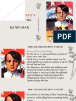 Emilio Jacinto's Kartilya Ng Katipunan GRP 3(1)
