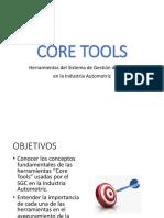 CORE TOOLS Herramientas para la Industria Automotriz 2019.pptx