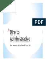 1. Direito Administrativo UNIVALI FIM1
