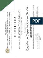 Certificacion Internacional E-Citizen