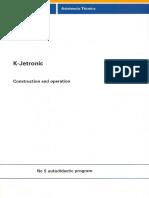 S01M5XXXX20-Nr 005 K-Jetronic Injection System