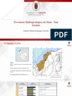 Provincia hidrogeologia Sinú-San Jacinto