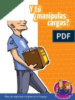 Manual Prevención - Manipulacion de Cargas