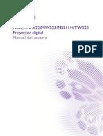 Manual Benq Proyector