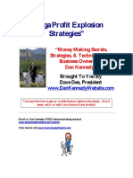 Mega-Profit Explosion Strategies by Dave Dee and Dan Kennedy