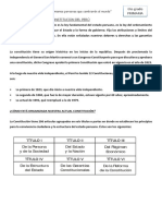 La Constitucion Del Perú 6to