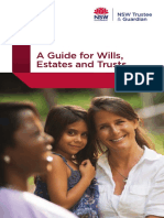 Guide for Wills Estates and Trusts