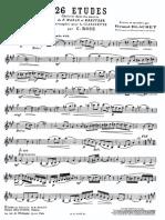 Estudios de clarinete