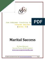 Marital Success - Sam Adeyemi