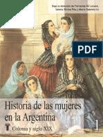 Historia de las mujeres en la argentina