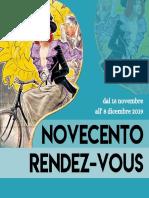"""Brochure """"Novecento Rendez-Vous"""" 2019"""