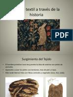 1- El Arte Textil a Través de La Historia