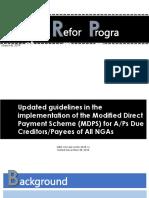 Budget Reform Program