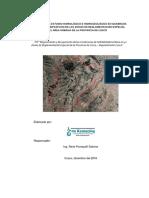informe  Hidrológico Sipaspujo