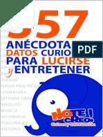 NoTeCreo! 357 Anecdotas y Datos - Tristan Lecrivain