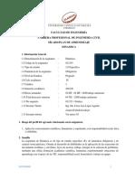 Dinamica 2019 II silabo