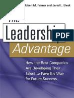 The Leadership Advantage, 2008.pdf