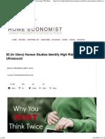 50 Human Studies Identify High Risks of Prenatal Ultrasound _ the Healthy Home Economist