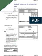 Cuadro de Instrumentos Canales de Adaptacin 60 a 62