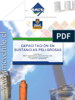 Capacitación en Sustancias Peligross