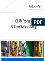 Laser CLAD process (additive manufacturing)