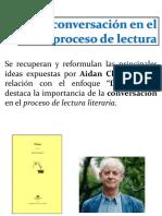 La Conversacion en El Proceso de Lectura Ppt Daiana Barone