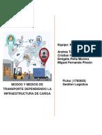Ensayo Modos y Medios de Transporte Dependiendo La Infraestructura de Carga (1)