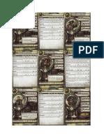 Mk II 2010 Mercenaries Cards