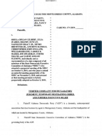 Alabama Democratic Party Lawsuit