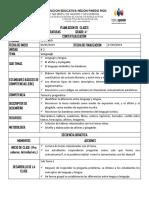 Formato de Planeacion de Clases 2019