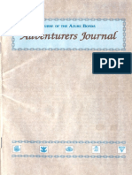Adventurers Journal