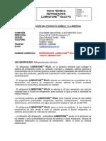 Ficha Tecnica Lubristone Rojo v 3