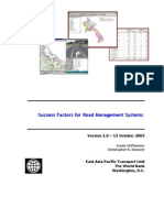 Success Factors For Road Management Systems