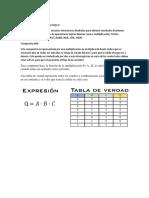 Concepto de Las Compuertas Lógicas y Funciones