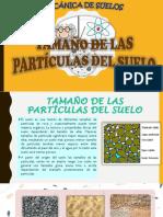 TAMAÑO DE PARÍCULAS DE LOS SUELOS