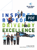 Blue Bird Annual Report 2014 Company Profile Indonesia Investments