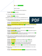 SUBJECT and VERB Agreement.docx