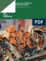 Guía Docente de educación ambiental entorno a los incendios forestales
