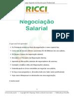 como fazer uma negociação salarial