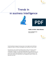 Trends in Business Intelligenced