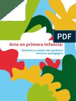 Arte en Primera Infancia-sentidos y Rumbos Del Que Hacer Artistico Pedagogico