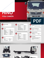Hino Fc9j Camion