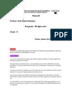Proyecto 3I Física III