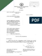 Supreme Court Same Sex Marriage Decision (Falcis vs Civil Registrar General) - Part 1