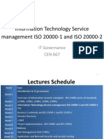 Information Technology Service Management ISO 20000-1