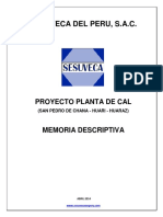 proyecto planta de cal