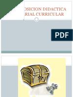 Material Curricular Y TRANSPOSICION