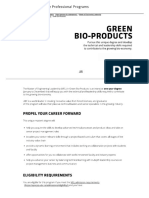 Green Bio-Products - UBC Applied Science Professional Programs