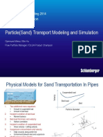 OLGA 2014 Particle(Sand) Transport Modeling and Simulation
