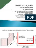 Diseño Albañileria Aplicación